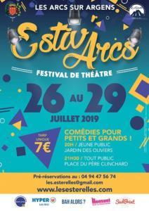 les arcs les esterelles st-raphael frejus theatre Estiv'Arcs 2019